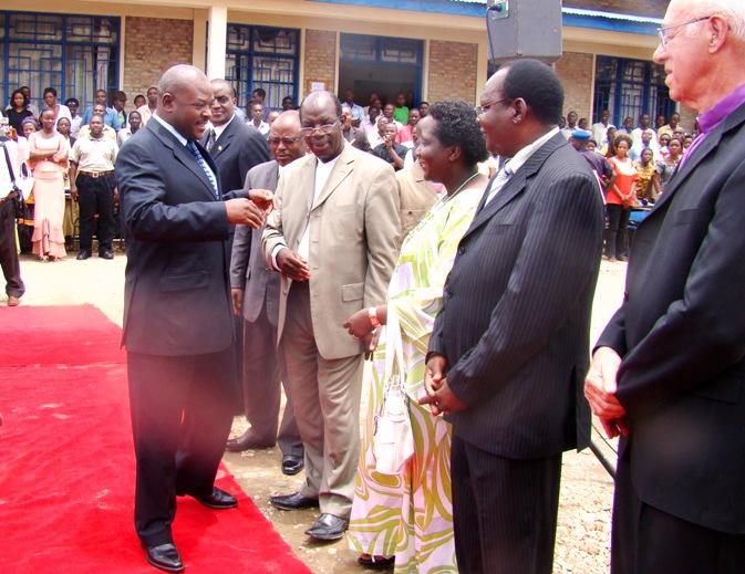 Le président du Burundi à l'Université Espoir d'Afrique