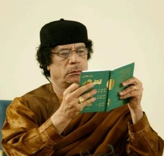 Khadafi et le livre vert